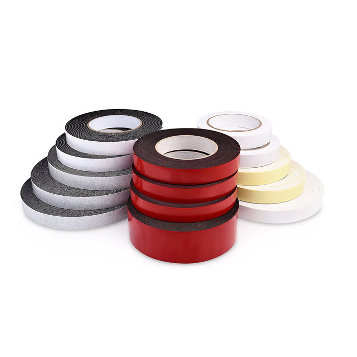 Waterproof Double Adhesive Foam Tape PE / EVA Acrylic Adhesive High Sticky